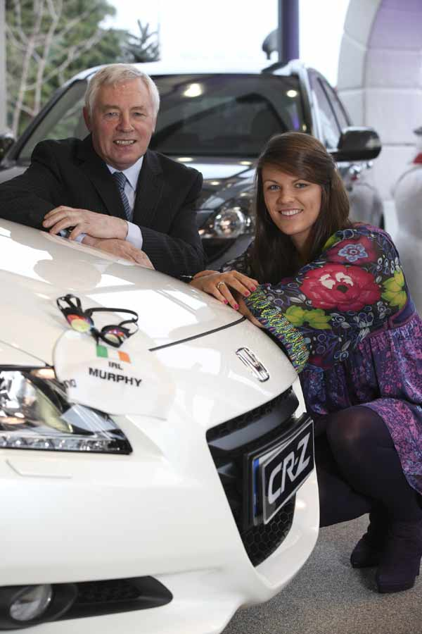 Olympic hopeful Grainne Murphy joins Honda as Brand Ambassador