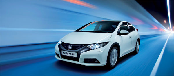 A New Honda Civic from €249 per month