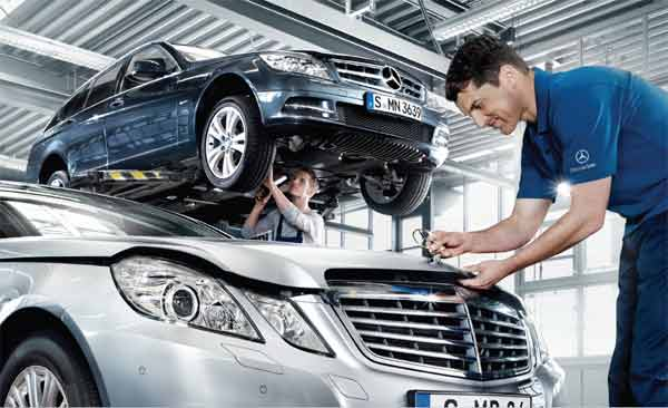 Fixed price service plus full vehicle heath check for only for Mercedes benz fixed price servicing costs