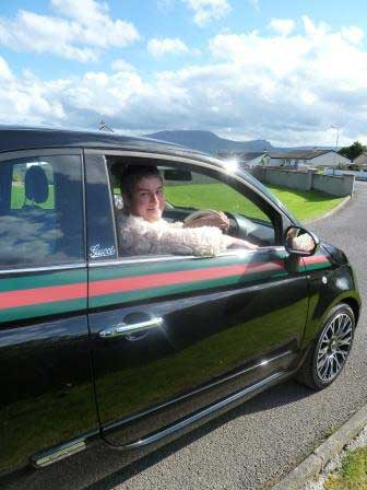 Tracy Ferguson spends a week in the gorgeous Fiat 500 by Gucci