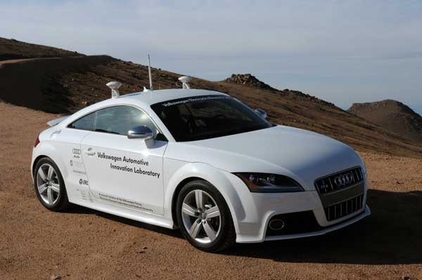 Audi goes 'drive by wire' with 'driverless' sports car...