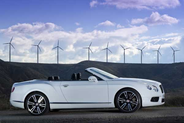 Bentley Continental GTC - Glacier White
