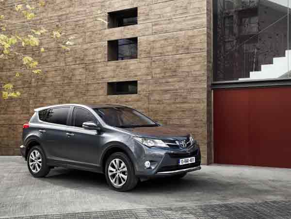 The RAV4 is available in both two (front) and all-wheel drive