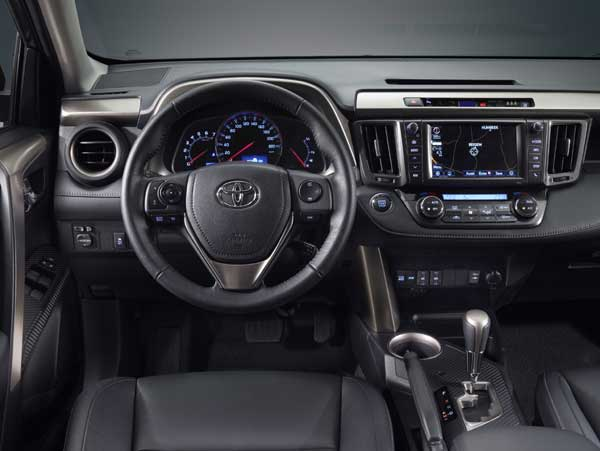 Three trims are available on the RAV4; Aura, Luna and Sol