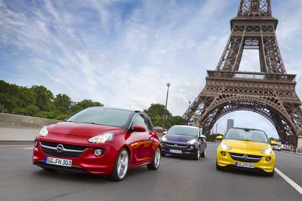 The Opel Adam