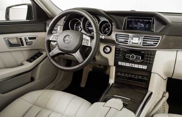 Inside the E-Class is oasis of opulence and comfort