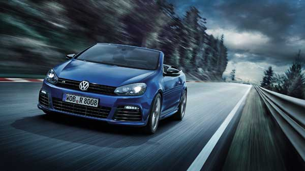 The Volkswagen Golf  Cabriolet