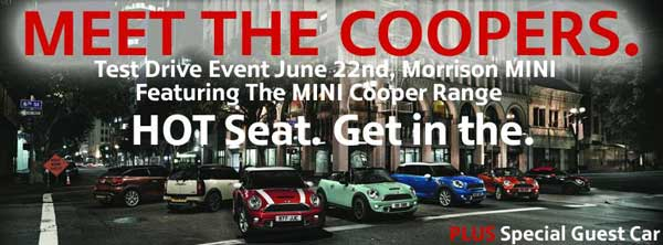 Meet The Coopers Test Drive Event