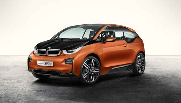 The all-electric BMW i3 Unveiling