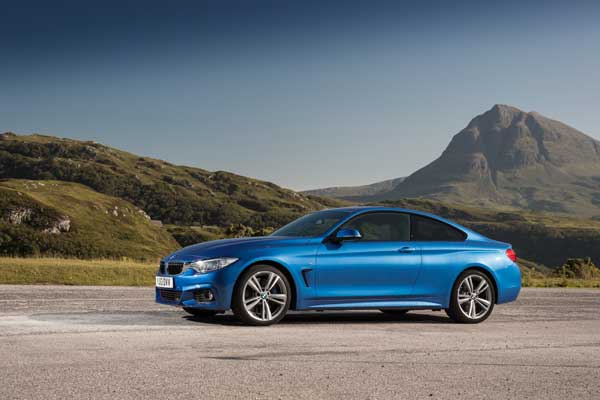 The BMW 4 Series Coupé goes on sales in Ireland on 5 October, 2013