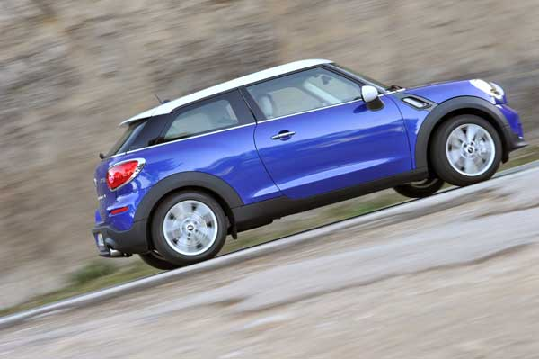 Styled as a coupé interpretation of the Countryman the Paceman is the 7th member of the family