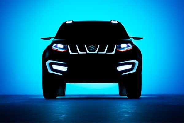 Suzuki iV-4: Compact SUV concept model