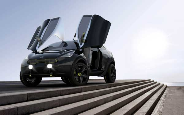 The Kia Niro hints at a possible small urban car