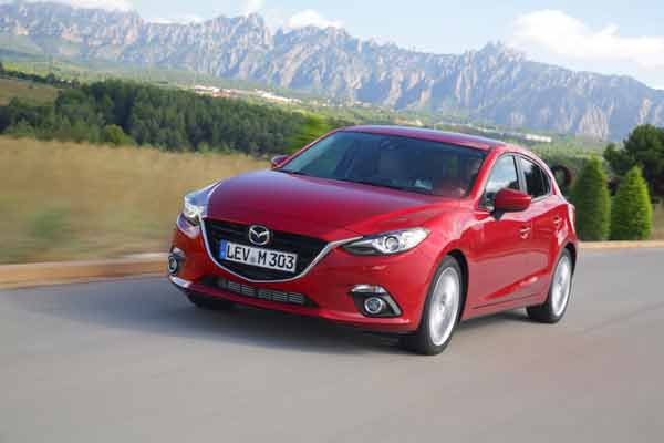 All-new Mazda3 Hatchback