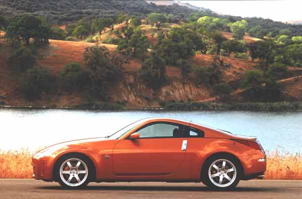 The 2002 Nissan 350Z  designed by Diane Allen