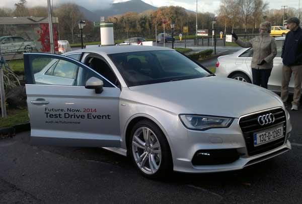 Audi Event At The INEC Wheelsforwomenie - Audi test drive