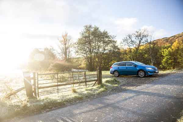 The Auris Touring Sports has the same  wheelbase as the Auris but is 285mm longer overall