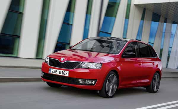 According to Skoda the new Spaceback  is designed for  young people and families