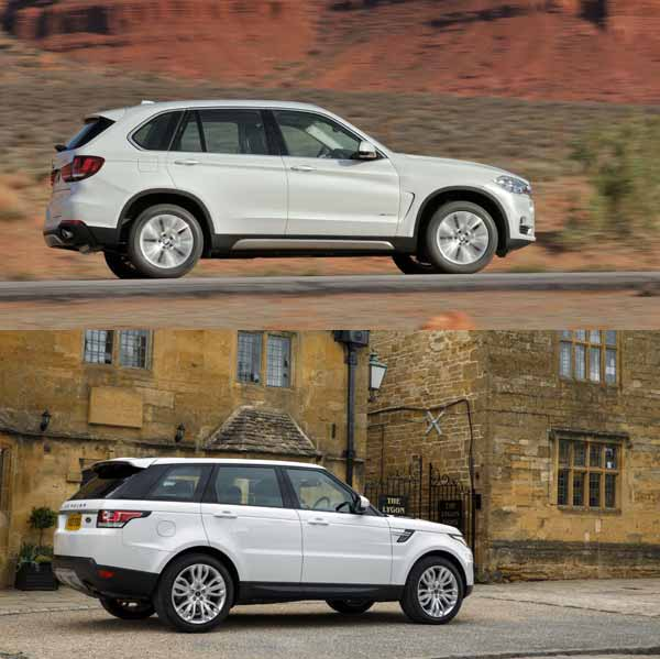 2014 Bmw X5 Vs 2014 Range Rover Sport Autos Post