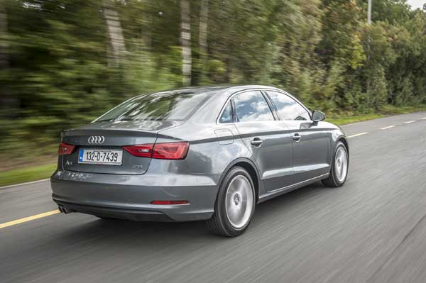 The A3 is the brand's first ever foray into the world's largest market segment – the compact saloon class