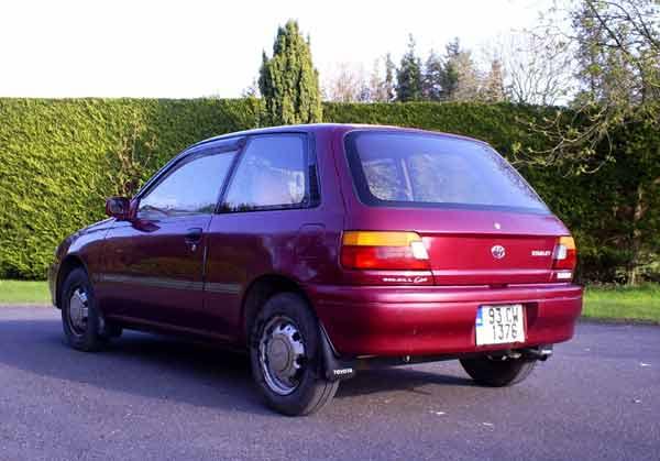 Bridin Kelly's Toyota Starlet