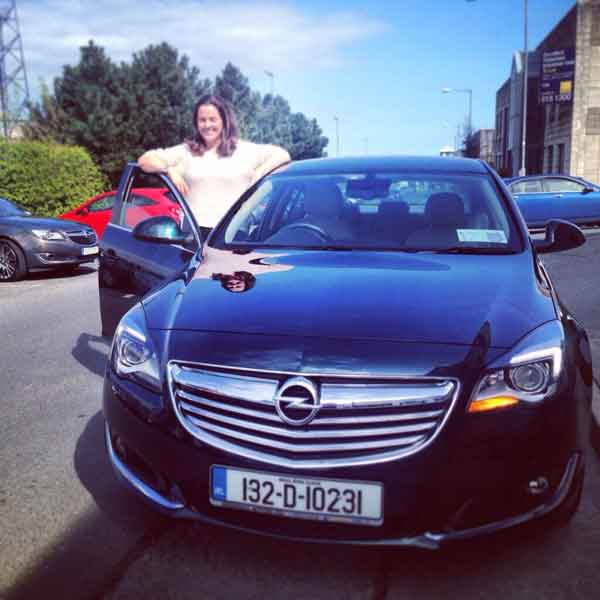 Ruth and the Opel Insignia