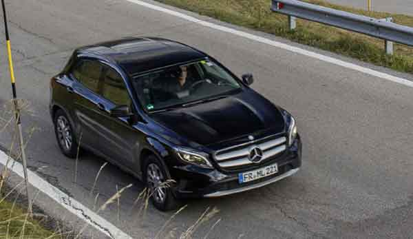 Prices for the new Mercedes-Benz GLA  start from €35,800