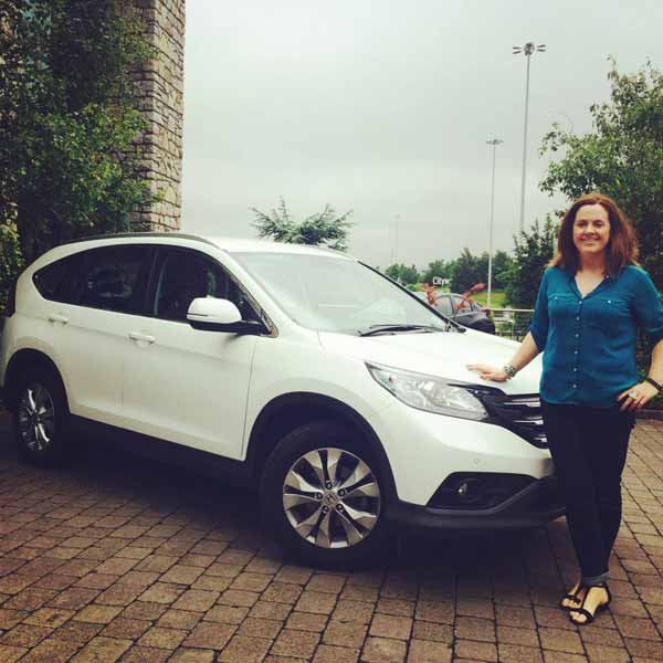 Ruth Scott drives the new Honda CR-V