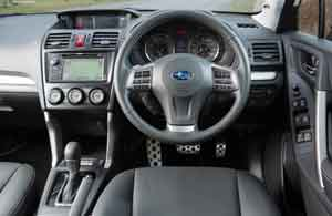 Inside the Subaru Forester