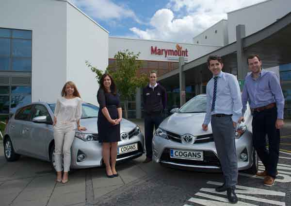 Vehicles are lifeline to Marymount Hospice