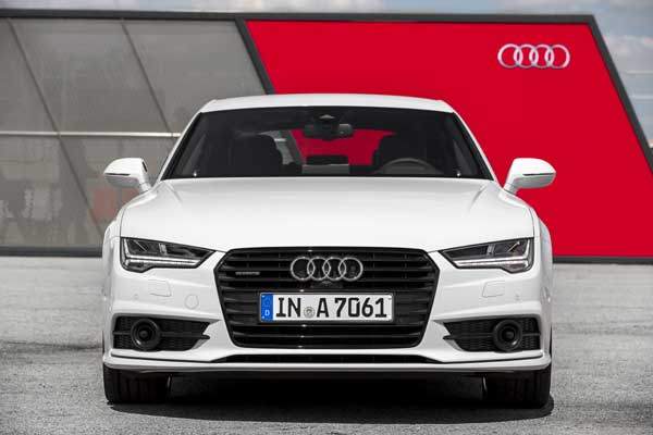 The body of the new Audi A7 Sportback consists primarily of aluminium and high-tech steel grades