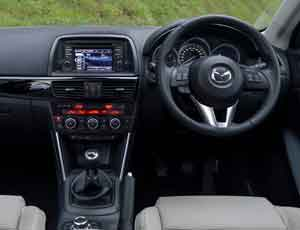 Inside the Mazda CX-5