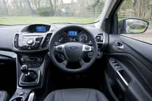 Inside the Ford Kuga