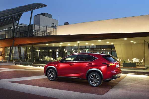 First Drive : Lexus NX F-Sport AWD