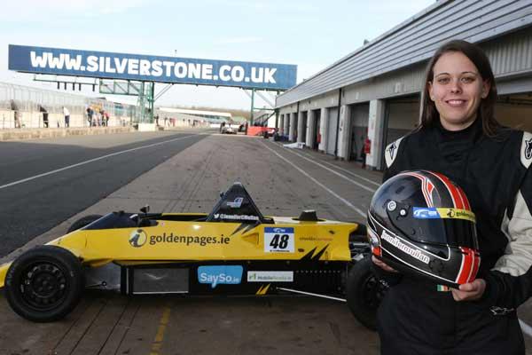 Jennifer Mullan at Silverstone - Photo by Jakob Ebrey