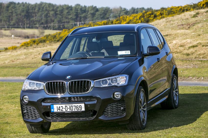 New BMW X3. Photo by Kyran O'Brien
