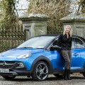 Geraldine Herbert with the Opel Adam Rocks