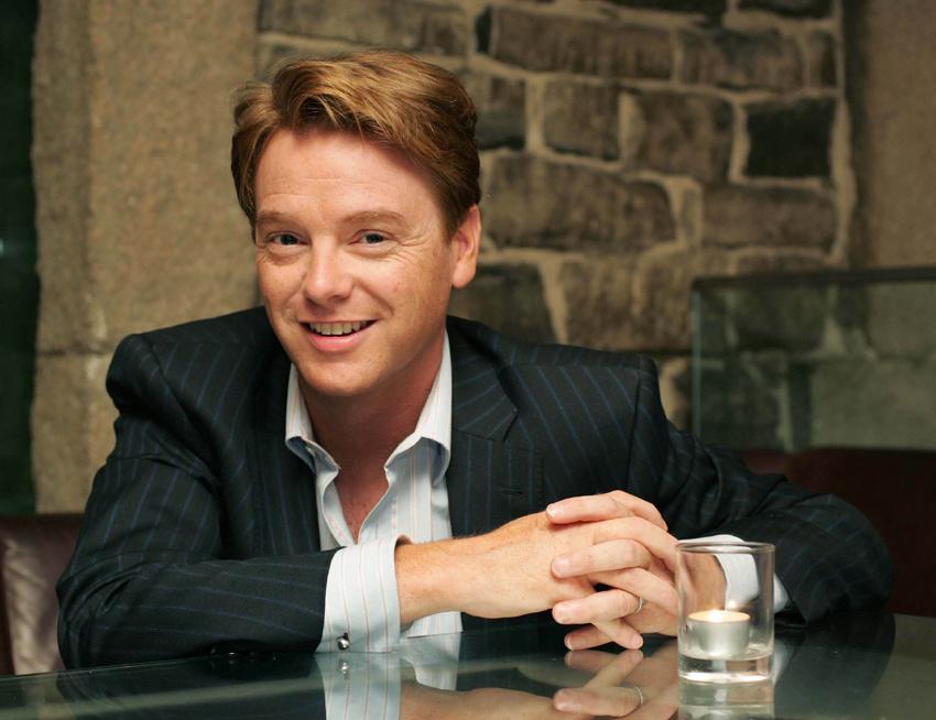 Economist, author and TV presenter David McWilliams,