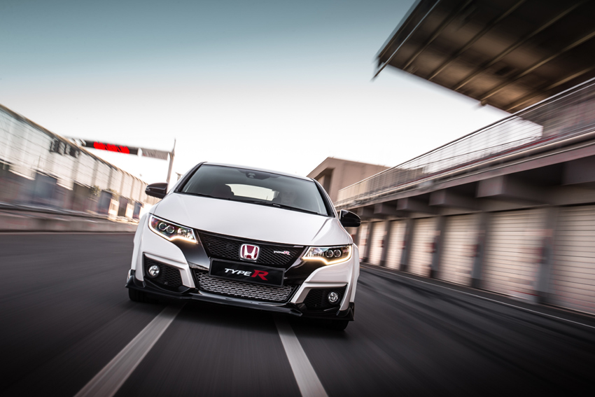 After a five year wait, the arrival of one of the most keenly anticipated hot hatch, the Honda Civic Type R.