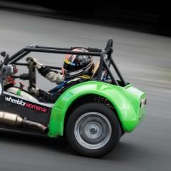 Jennifer Mullan competes in the Irish Strykers Racing Championship