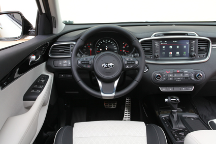 Inside it is more stylish with higher quality materials