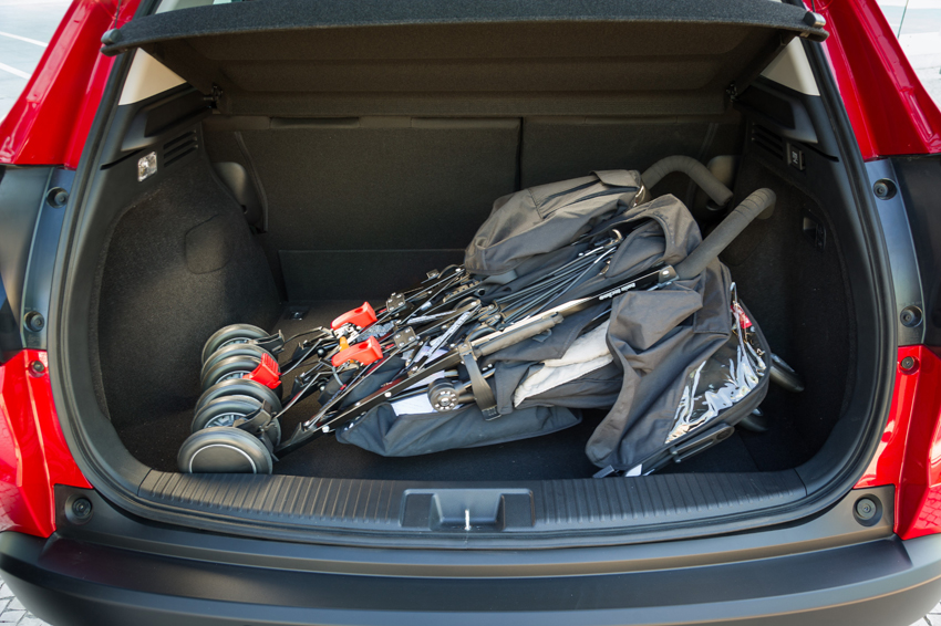 The HR-V has the largest boot in its class, with 453-litre capacity