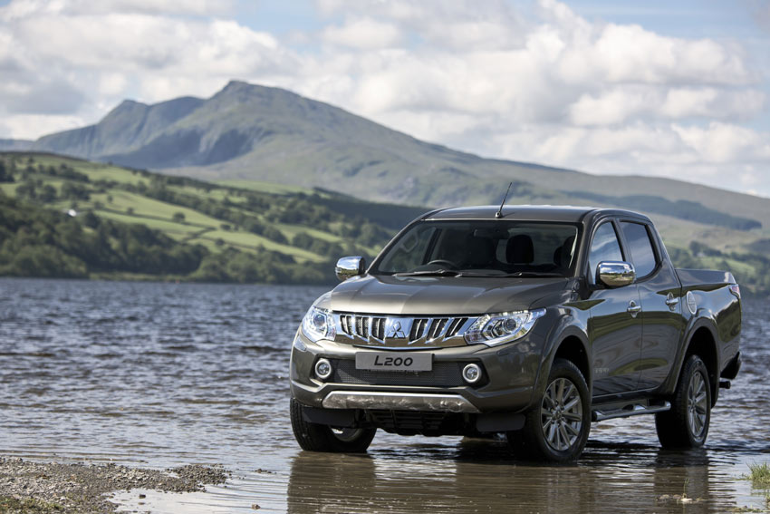 The new Mitsubishi L200 starts at €27,359 ex VAT