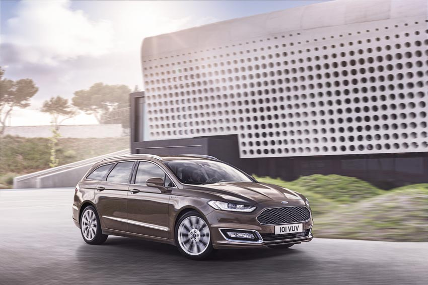 Mondeo is the first model to be introduced as part of the new Vignale brand
