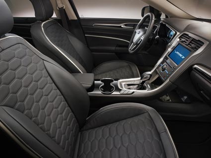 The Ford Vignale Mondeo is crammed with assistance technologies
