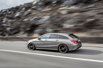 The styling of the CLA Shooting Brake isunmistakable