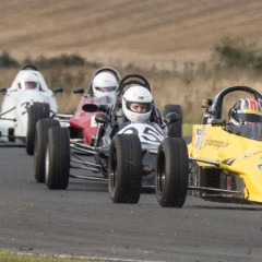 Jennifer Mullan competes in the Martin Donnelly Trophy race at Kirkistown