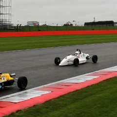 Jennifer Mullan competes for the Walter Hayes Trophy in Silverstone