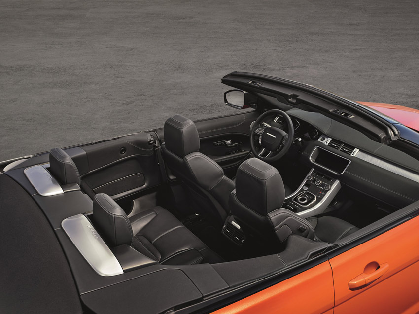 The world's first premium compact SUV convertible.