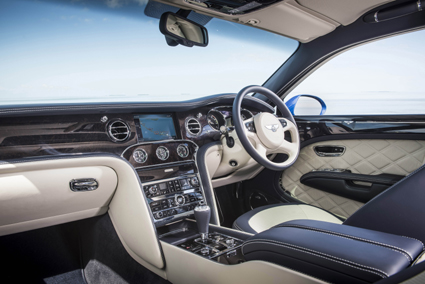 t modern exterior and interior bespoke styling features define the Mulsanne Speed as a statement in quintessential British luxury